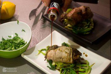 Dr. Lutz Hänsel kocht japanische Rouladen mit Trockenpflaumen | Madame Cuisine