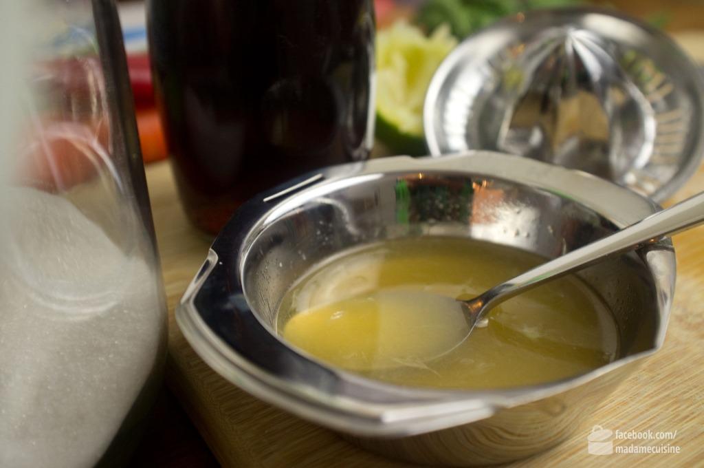 Vietnamesisches mariniertes Huhn mit Minze | Madame Cuisine Rezept