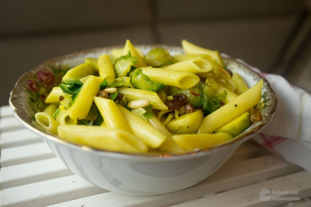 Winterliche Pasta mit Rosenkohl | Madame Cuisine Rezept