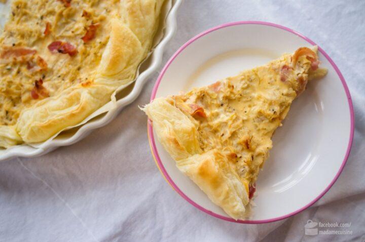 Sauerkraut-Quiche | Madame Cuisine