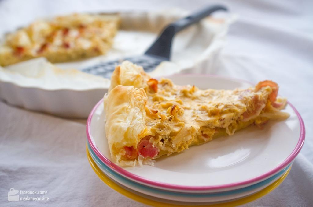 Sauerkraut-Quiche | Madame Cuisine Rezept