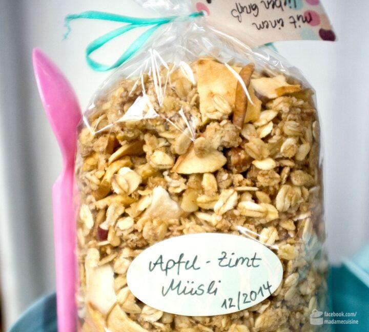 Apfel-Zimt-Müsli selbstgemacht | Madame Cuisine