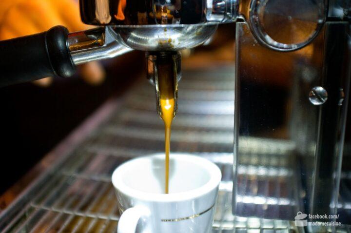 Espresso vom Barista | Madame Cuisine