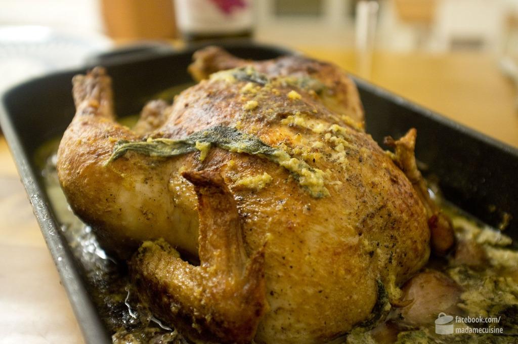 York Hovest kocht Hühnchen in Milch | Madame Cuisine Rezept
