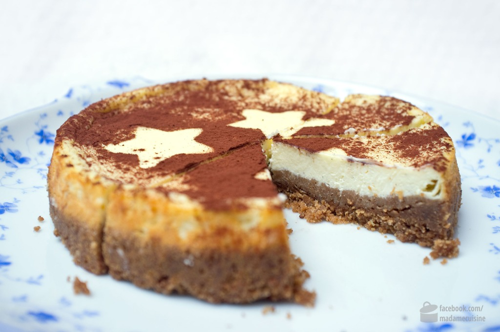 New York Cheesecake auf Spekulatius | Madame Cuisine