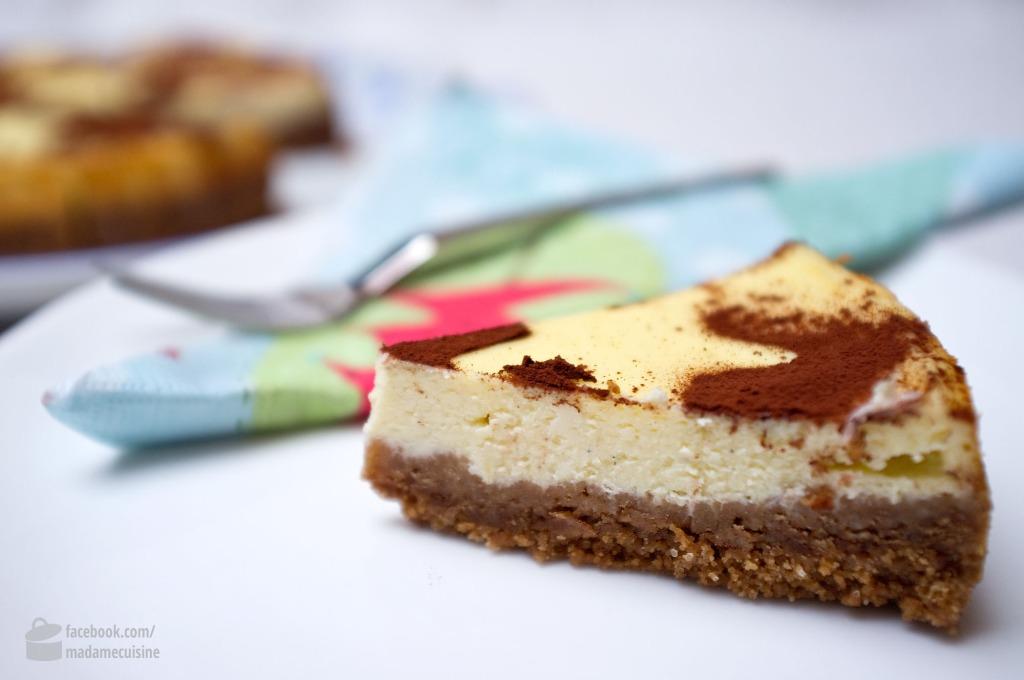 New York Cheesecake auf Spekulatius | Madame Cuisine Rezept