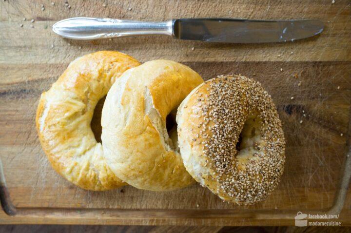 Bagel mit Lachs und Frischkäse | Madame Cuisine