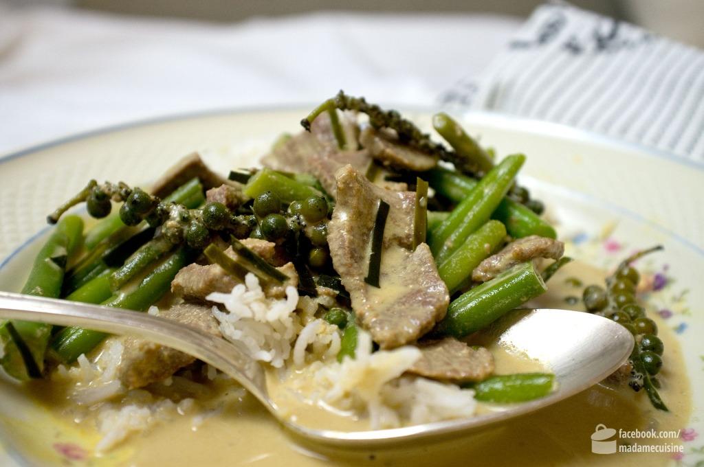 Grünes Thai-Curry mit Lamm | Madame Cuisine Rezept