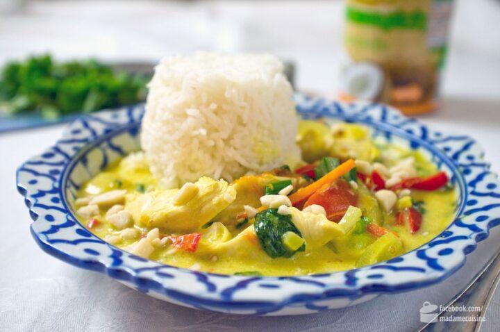 Vietnam-Curry mit Hähnchen, Basilikum und Minze | Madame Cuisine