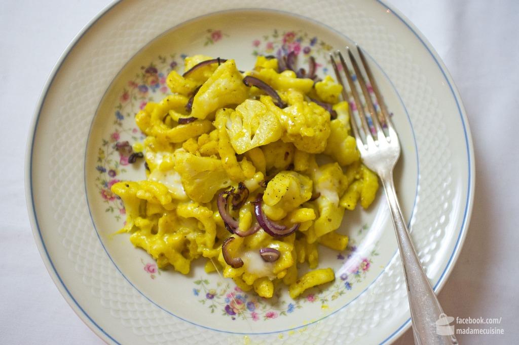 Blumenkohl-Spätzle-Pfanne | Madame Cuisine Rezept