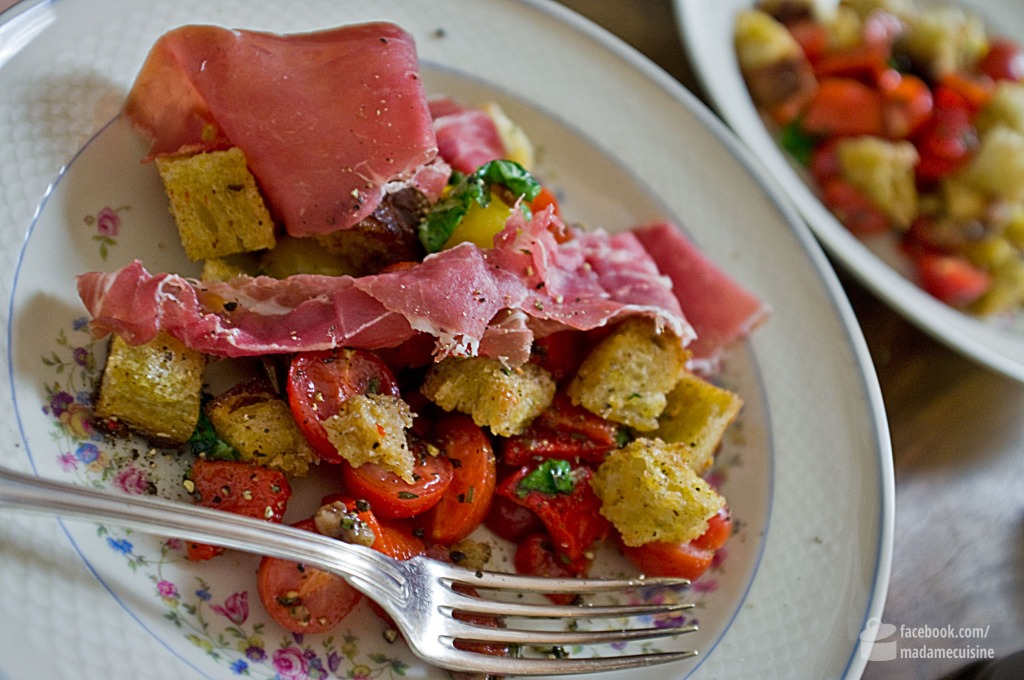 Italienischer Brotsalat | Madame Cuisine Rezept