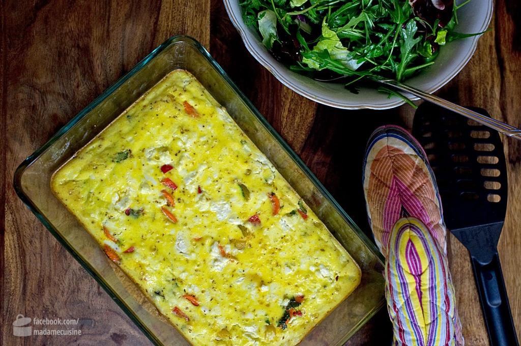 Gemüse-Pudding | Madame Cuisine