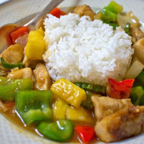 Hähnchen Chinesisch Süß-Sauer | Madame Cuisine