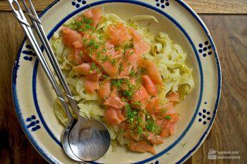 Lauwarmer Fenchelsalat mit Räucherlachs | Madame Cuisine