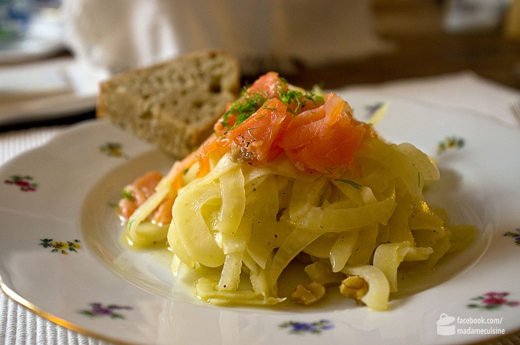 Lauwarmer Fenchelsalat mit Räucherlachs | Madame Cuisine Rezept