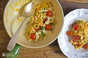 Polenta mit Chorizo | Madame Cuisine