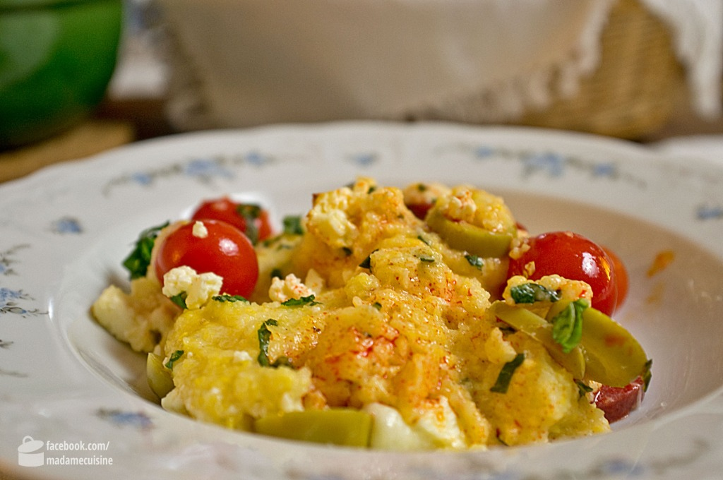 Polenta mit Chorizo | Madame Cuisine Rezept