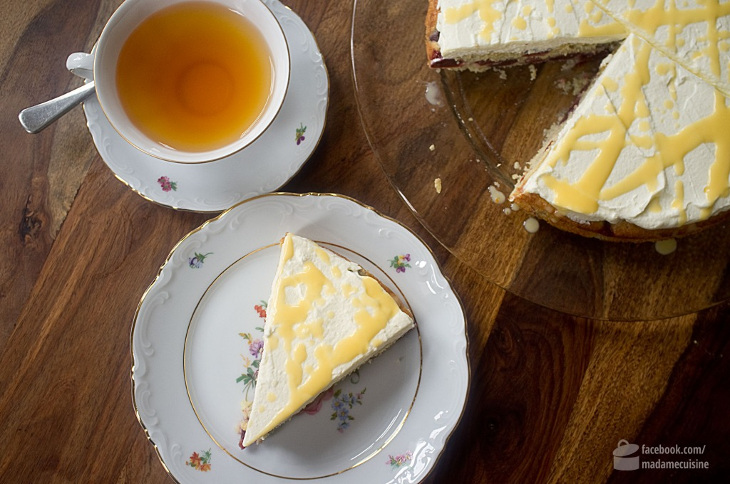 Kirsch-Eierlikör-Torte | Madame Cuisine Rezept