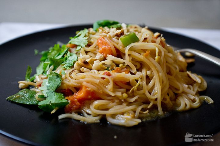 Pad Thai Rezept (gebratene Thai-Nudeln) | Madame Cuisine