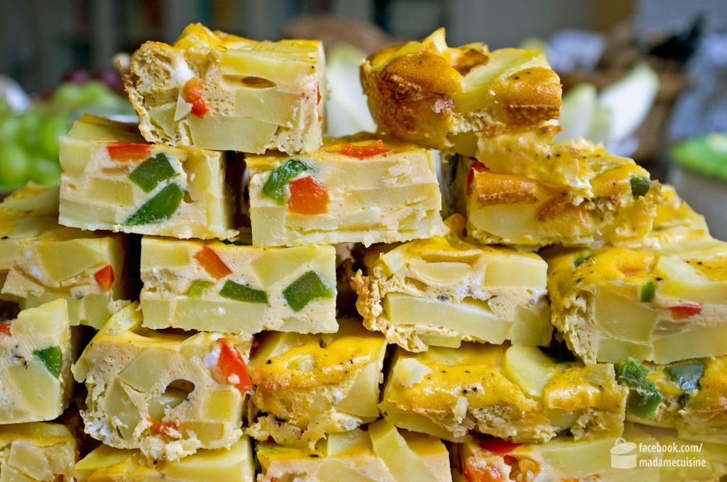 Tortilla de Patatas (Spanisches Omelette) mit Paprika | Madame Cuisine Rezept