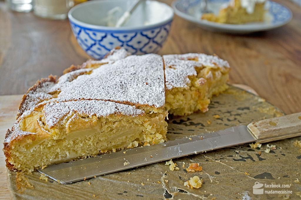 Apfel-Kokos-Apfel-Kuchen | Madame Cuisine Rezept
