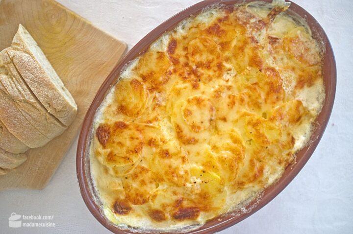 Kartoffelgratin ohne sahne