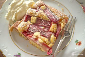 Rhabarberkuchen mit weißer Schokolade | Madame Cuisine