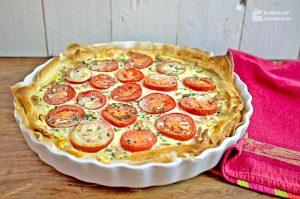 Quiche mit Thunfisch und Tomaten | Madame Cuisine