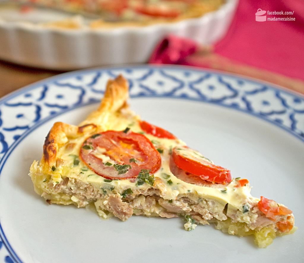 Quiche mit Thunfisch und Tomaten | Madame Cuisine Rezept