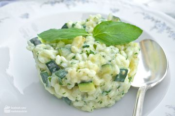 Risotto mit Zucchini & Ricotta | Madame Cuisine