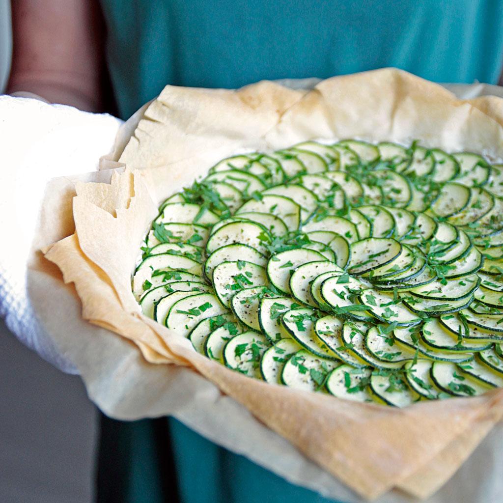Knusprige Zucchini-Tarte (Gast-Foto-Beitrag) | Madame Cuisine Rezept