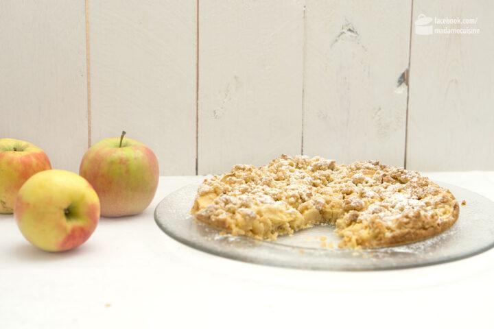 Apfel-Tarte mit Streuseln | Madame Cuisine