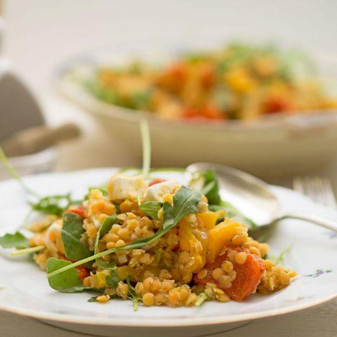 Sommerlicher Linsensalat | Madame Cuisine