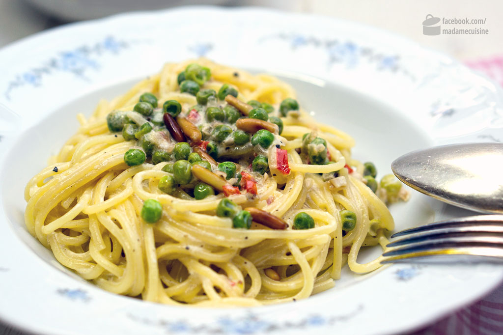 Spaghetti al Limone | Madame Cuisine