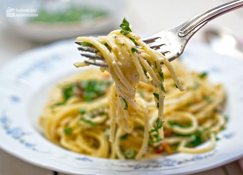 Spaghetti al Limone | Madame Cuisine Rezept