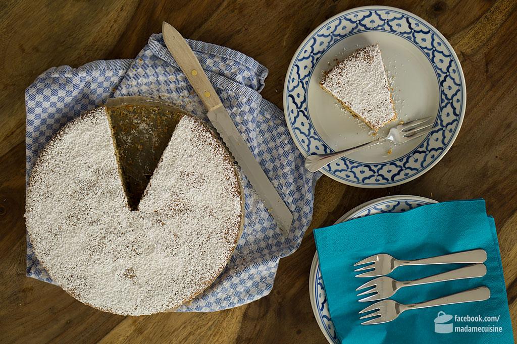 Mallorquinischer Mandelkuchen (Gató de Almendras) | Madame Cuisine Rezept