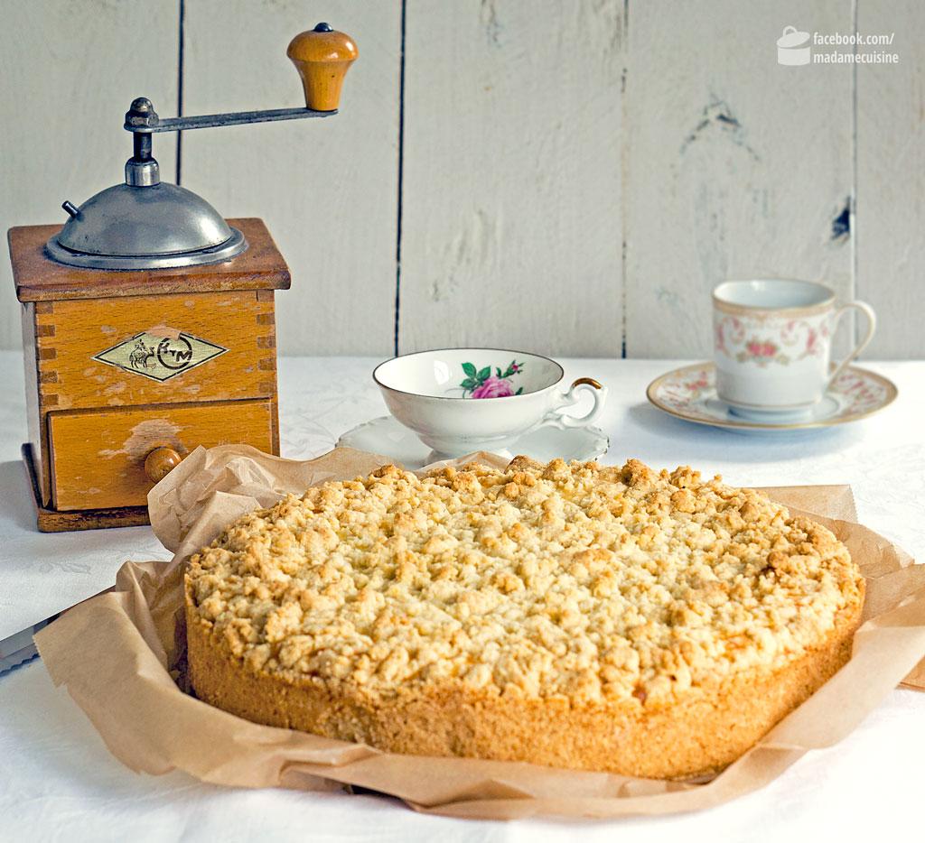 Käsekuchen mit Streuseln | Madame Cuisine Rezept
