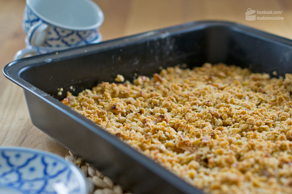 Apple Crumble New England Style | Madame Cuisine Rezept