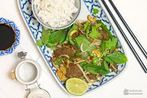 Gebratenes Rind mit Zuckerschoten (asiatisch) | Madame Cuisine