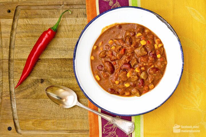 chili con carne mit hackfleisch kalorien