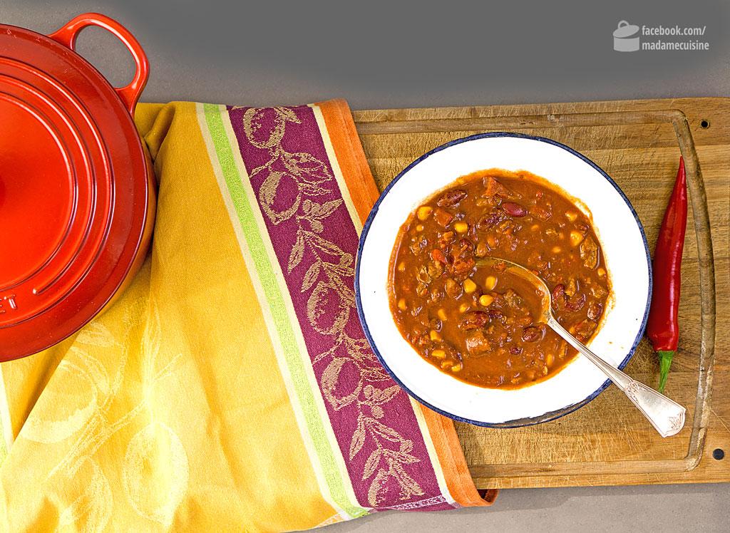 Chili con Carne mit Rindfleisch | Madame Cuisine Rezept