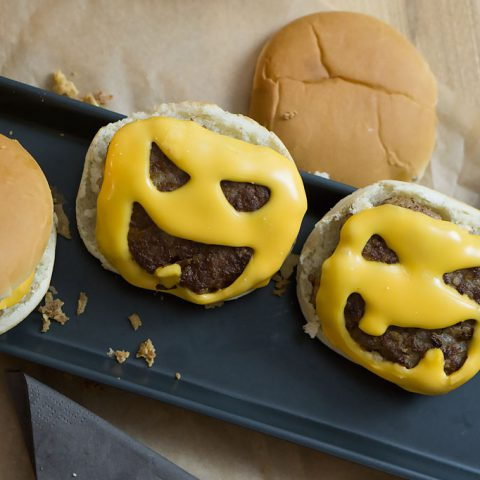 Halloween Cheeseburger | Madame Cuisine