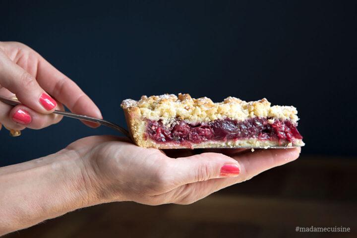Kirsch-Streusel-Kuchen | Madame Cuisine Rezept