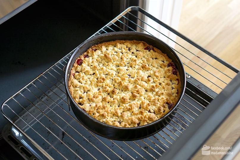 Kirsch Streusel Kuchen Madame Cuisine