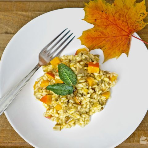 Steinpilz-Kürbis-Risotto {Sponsored Post} | Madame Cuisine