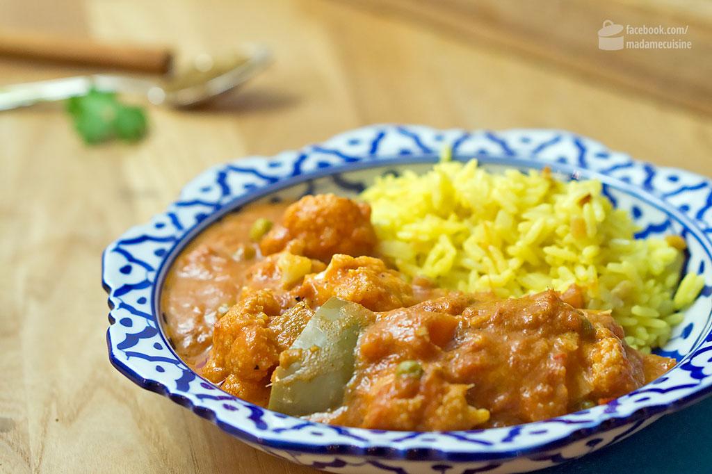 Blumenkohl Tikka Masala | Madame Cuisine Rezept