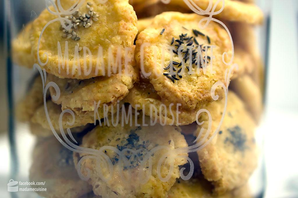 Herzhafte kekse rezept