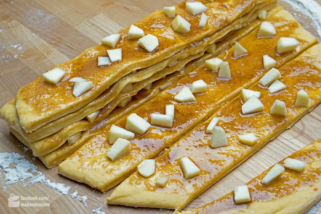Zupfbrot mit Zimt (Pull-apart Bread) | Madame Cuisine Rezept