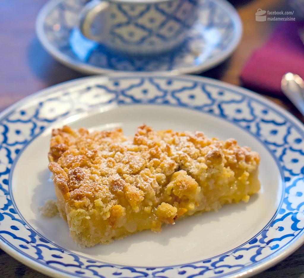 Apfel-Zimt-Tarte mit Marzipan-Streuseln | Madame Cuisine Rezept