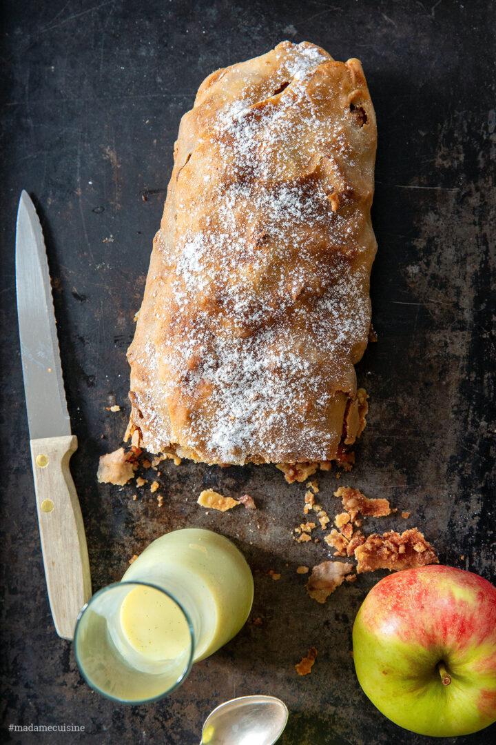 Selbstgemachter Apfelstrudel | Madame Cuisine Rezept